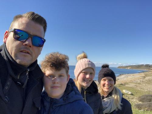 Gåtur på Røsnæs, forår 2020